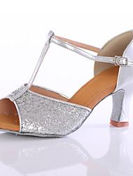 Для женщин-Блестки-Персонализируемая() -Танцевальные кроссовки