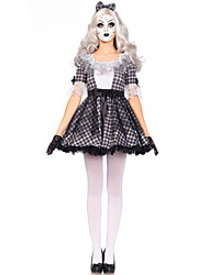 Cosplay Costumes Ghost Cosplay Festival/Holiday Halloween Costumes Fashion Leotard/Onesie Halloween Carnival Female