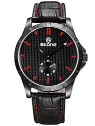 SKONE Dámské Módní hodinky Digitální hodinky čínština Křemenný Kůže Kapela Černá Hnědá