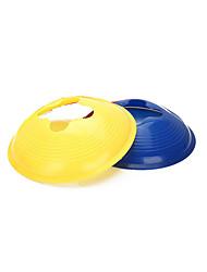 2pcs futebol durável / cone de treinamento de futebol