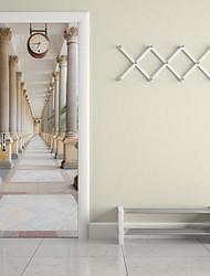 Архитектура Наклейки 3D наклейки Декоративные наклейки на стены,Винил материал Украшение дома Наклейка на стену
