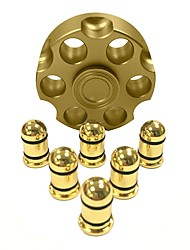 Fidget Spinner Hand Spinner Toys Metal New Hot Cartridge Bullet Gun Revolver Gift High Speed
