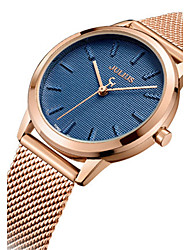 Men's Fashion Watch Japanese Quartz Water Resistant / Water Proof Alloy Band Charm Casual Silver Gold Rose Gold