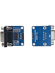 MAX232CSE Transfer Chip RS232 To TTL Converter Module COM Serial Board(2Pcs)