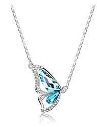 Women's Pendant Necklaces Jewelry Jewelry Crystal Alloy Unique Design Fashion Euramerican Jewelry ForWedding Party Birthday