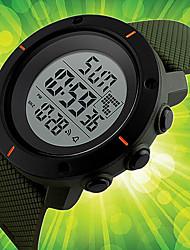Муж. Спортивные часы Нарядные часы Модные часы Наручные часы Уникальный творческий часы Китайский Цифровой Календарь Секундомер Защита от