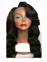 Hot Sale Human Hair Wigs Natural Hairline Body Wave Style Guleless Lace Front Wigs For Black Women