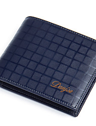 Men Wallets Purse cowhide Male Short Casual Design Brand Real Leather Money Pocket Men Card Holder