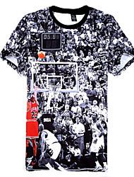 Herrn Kurzarm Basketball T-shirt Kurze Hosen
