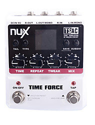 NUX Time Force Stomp Boxes Multi Digital Delay Guitar Effect Pedals Runs on battery or AC power(The battery is not included)