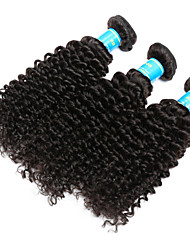 Vinsteen Indian Kinky Curly Hair Weave 3 Bundles Virgin Human Hair Extensions Natural Human Hair Wefts Unprocessed Human Hair Curly Weave
