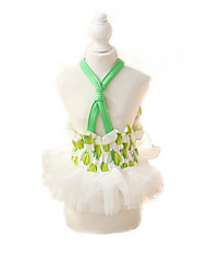 Vestidos Roupas para Cães Fofo Da Moda Casual Fruta Verde