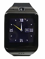 Yy lg118 carte smartwatch aide à la montre bluetooth sim / tf / nfc fonction pour android / ios