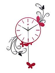 Modern Style Creative Pendulum Mute Wall Clock