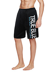 Men's Mid Rise strenchy Shorts Pants,Active Simple Straight Letter
