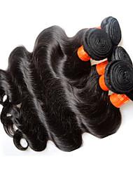 Оптовые малайзийские волосы тела 1kg 10pieces много дешевых 8a малайзийских remy наращивание человеческих волос ткет естественный черный