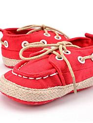 Enfants Bébé Baskets Premières Chaussures Toile Automne Hiver Décontracté Habillé Soirée & Evénement Premières ChaussuresLacet