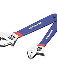 Wan bao 6''red et couleur bleue avec clé à manche en plastique / 1