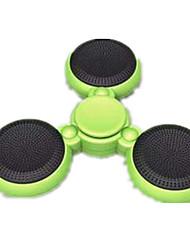 Toupies Fidget Spinner à main Jouets Tri-Spinner LED Spinner Jouets Métal EDCHaut-parleur Bluetooth Soulagement de stress et l'anxiété