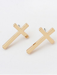 Stud Earrings Cross Jewelry Unique Design Sexy Euramerican Vintage Personalized