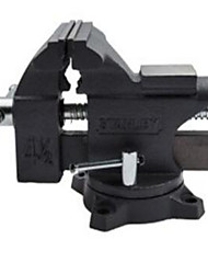 Stanley 4.5 / 115 Mm Light Vise Durable Cast Iron Shank Provides High Strength Clamping Force