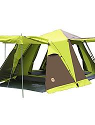 CAMEL 3 a 4 Personas Tienda Doble Carpa para camping Tienda de Campaña Automática para CM Una Habitación con Vestíbulo