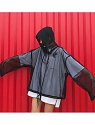 Для женщин Куртка Капюшон