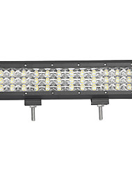 108w-row 10800lm spot de inundação do fascio led barra de luz de trabalho offroad led conduzindo lampada 12 v 24 v por camion suv atv 4x4