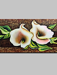 Large Hand-Painted Flowers Oil Painting On Canvas Modern Abstract Wall Art Pictures For Home Decoration Ready To Hang