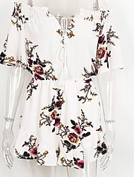 Chemisier Robes Costumes Femme,Imprimé Décontracté / Quotidien simple