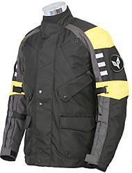 Unisexe Vélo Hauts/Tops Vestimentaire Protectif Coton Térylène Oxford Sportif Moto Eté Hiver Blanc Noir