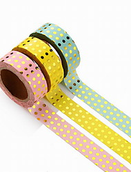 Creative DIY Dot Gilding Decorative Album Stickers & Tapes 1PC