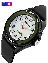 SKMEI Vintage Belt Business Quartz Waterproof Watch
