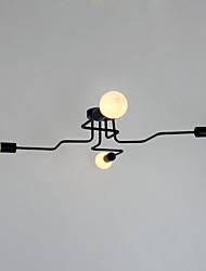 Vestavná montáž ,  Venkovský styl umělecké tradiční klasika Země Obraz vlastnost for Mini styl Kov Vevnitř Herní pokoj garáž 4 Žárovky