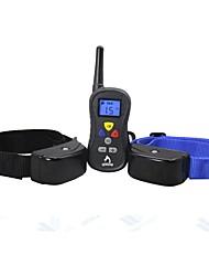 Cachorro Treino Controlo Remoto Electrónico Ajudas de Comportamento anti Bark Recarregável
