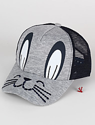 Kids' Cap Cartoon Rabbit Pattern Unisex Ajustable Mesh Hat