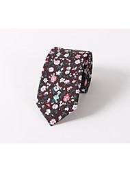 Cravate floral cravate en coton