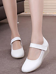 Women's Flats Comfort Microfibre Spring Casual White Flat