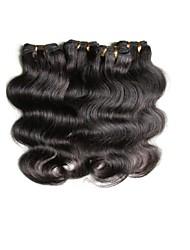 cheap 6a brazilian human hair body wave 400g 8pieces lot natural color 50g/bundle 100% virgin hair material made soft texture