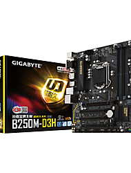 GIGABYTE B250M-D3H Motherboard with Intel Quad-Core I5-7500 CPU