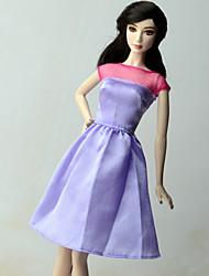 Habillé Pour Poupée Barbie Robe Pour Fille de Jouets DIY