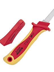Sata 93472 Insulated Cable Cutter Straight Edge VDE Cable Peeling Knife / 1