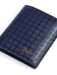 Men Wallets Purse cowhide Male Short Casual Design Brand Real Leather Money Pocket Men Card Holder