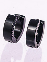 High Quality 316 L Stainless Steel Earrings for Women Perfect Polished Circle Stud Earrings Trendy Jewelry