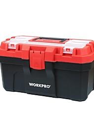 Kit de ferramentas de plástico 16 caixa de ferramentas de hardware de reparo multifuncional / 1