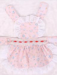 Combinaison-pantalon Vêtements pour Chien Mignon Anniversaire Princesse Bleu Rose
