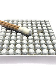 Cue Sticks & Accessories Cue Tip Snooker Pool Case Included Impact Resistant Small Size Plastic 9mm