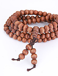 Women's Men's Strand Bracelet Wrap Bracelet Jewelry Natural Fashion Wood Irregular Jewelry For Special Occasion Gift