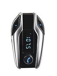 Bluetooth Car X7 Kit Handsfree FM Transmitter Radio MP3 Player USB Charger SD TF MMC USB Charger