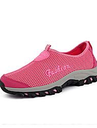 Для женщин Спортивная обувь Светодиодные подошвы Удобная обувь Тюль Весна Лето Осень Для прогулок Повседневный Для занятий спортомБеговая
